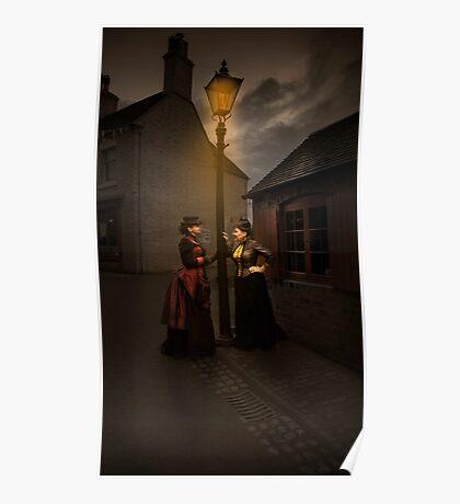 Lamp Light Ladies Poster