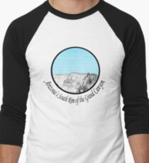 A GRAND Canyon sketch Men's Baseball ¾ T-Shirt