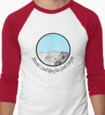 A GRAND Canyon sketch Men's Baseball ¾ T-Shirt