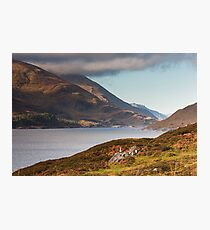 Loch Mullardoch Photographic Print