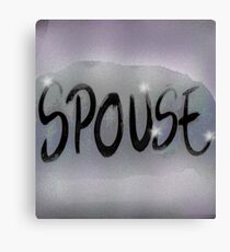 spouse Canvas Print