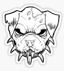 Angry Pitbull Drawings...