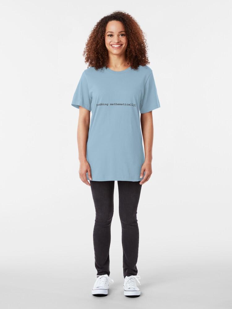 Alternative Ansicht von Tee: [sobbing mathematically] Slim Fit T-Shirt