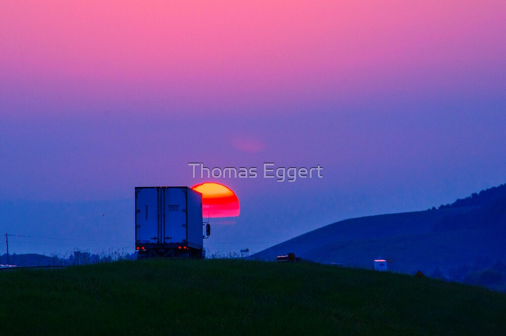 Off into the Sunset by Thomas Eggert