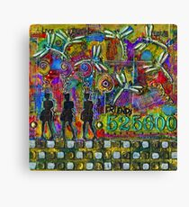 525,600 Minutes Metal Art - COLOR Canvas Print