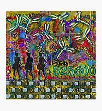 525,600 Minutes Metal Art - COLOR Photographic Print