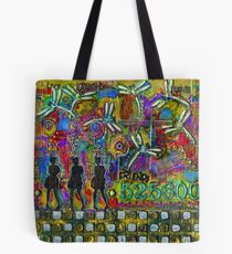 525,600 Minutes Metal Art - COLOR Tote Bag