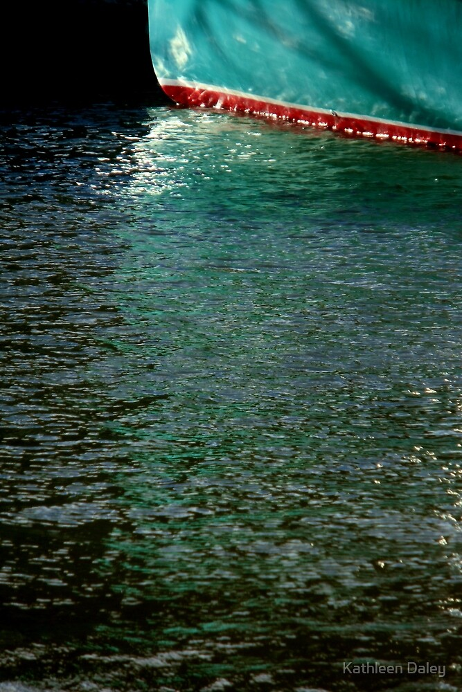 Aqua Reflections by Kathleen Daley