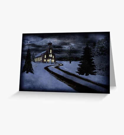 Old Fashioned Christmas Greeting Card