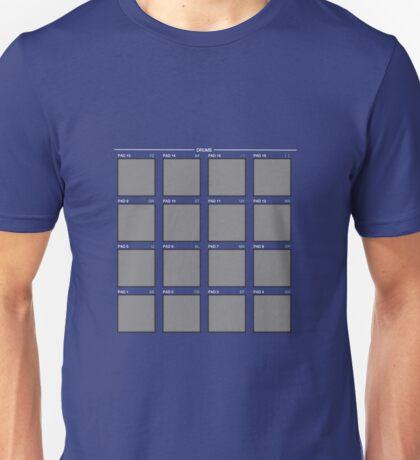 Drum Machine: Blue Variation T-Shirt