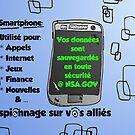 NSA sauvegarde smartphone comique by Binary-Options