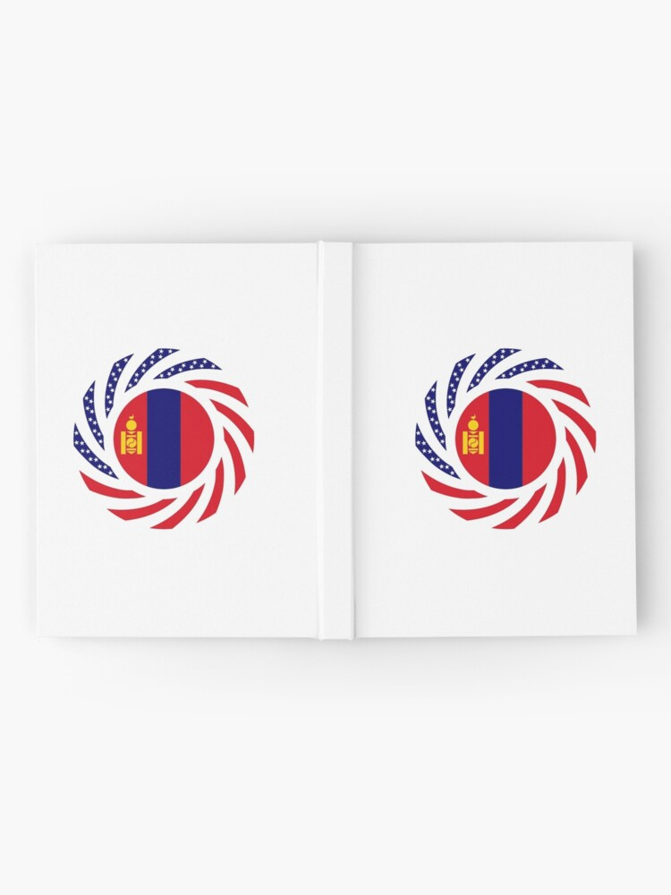 Alternate view of Mongolian American Multinational Patriot Flag Series Hardcover Journal