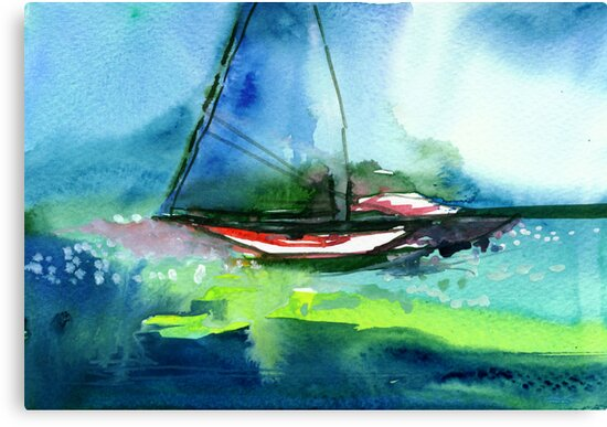 Sailing 2 by Anil Nene