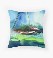 Sailing 2 Throw Pillow