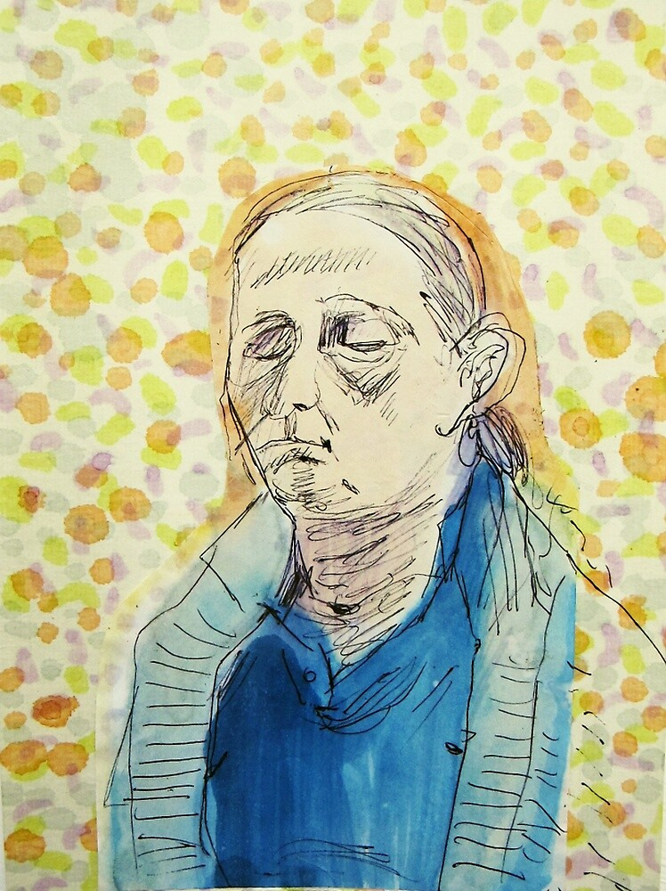 Ingrid meditating by donna malone
