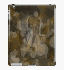 Sepia Weeping Angel iPad Case/Skin