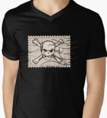 Skull Crack Stamp T-Shirt
