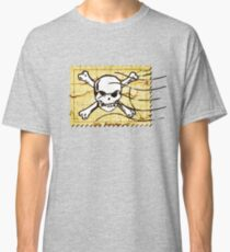 Skull Crack Stamp 2 Classic T-Shirt