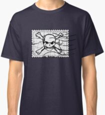 Skull Crack Stamp 3 Classic T-Shirt