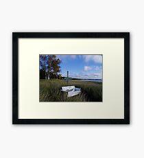 Whitefish Bay Framed Print