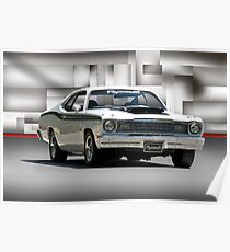 1968 Plymouth 383 Duster  Poster