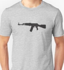 Machine Gun Rifle Unisex T-Shirt