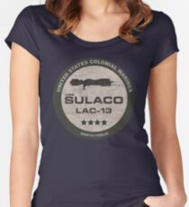 USS Sulaco Women's Fitted Scoop T-Shirt
