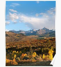 Autumn in the Sneffels Range Poster