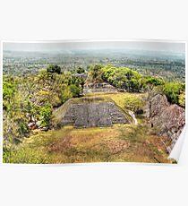Xunantunich Mayan Ruin in Belize, Central America Poster