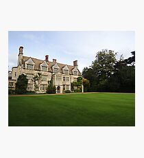Anglesey Abbey Photographic Print