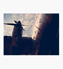 Airplane Photographic Print