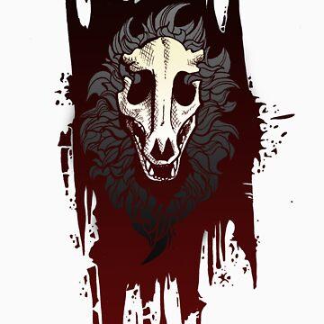 Skull Dog by tsebresos