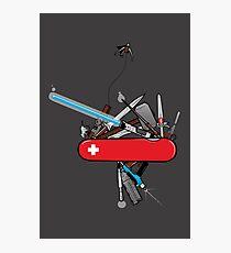 Geek Army Knife Photographic Print