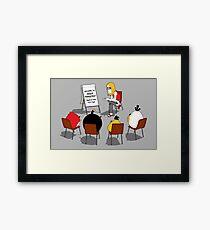 Anger Management Framed Print