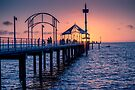 Brighton Sunset by Raymond Warren
