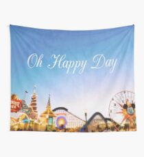 Oh Happy Day Wall Tapestry
