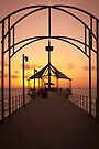 Sunset Pier by Raymond Warren