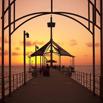Sunset Pier by RayW