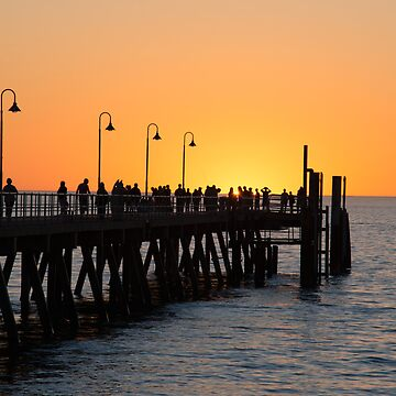 Sunset Pier II by RayW