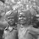The Bronze Twins by rosaliemcm