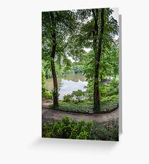Central Park Serenity Now Greeting Card