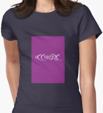 Eccentric Women's Fitted T-Shirt