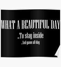 What A Beautiful Day Poster