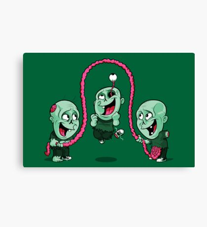 Playtime of the dead Canvas Print