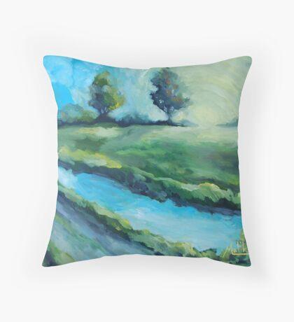 Kalinga Creek Throw Pillow