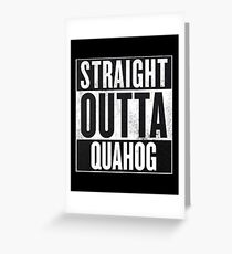 Straight Outta Quahog - The Family Guy Greeting Card