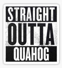 Straight Outta Quahog - The Family Guy Sticker