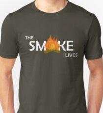 The Smoke Lives-White T-Shirt