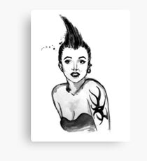 Punk Marilyn Canvas Print
