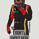 """Don't shout"" Kimi Raikkonen team radio by evenstarsaima"